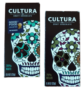 Cultura Craft Chocolate Haiti 70% & Belize 75%
